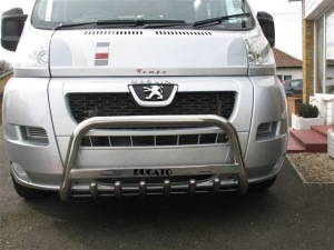 FIDU07FGBWM4 FIAT DUCATO 2006 + FRONT GRILL BAR MEDIUM & SIGN  Ø  60
